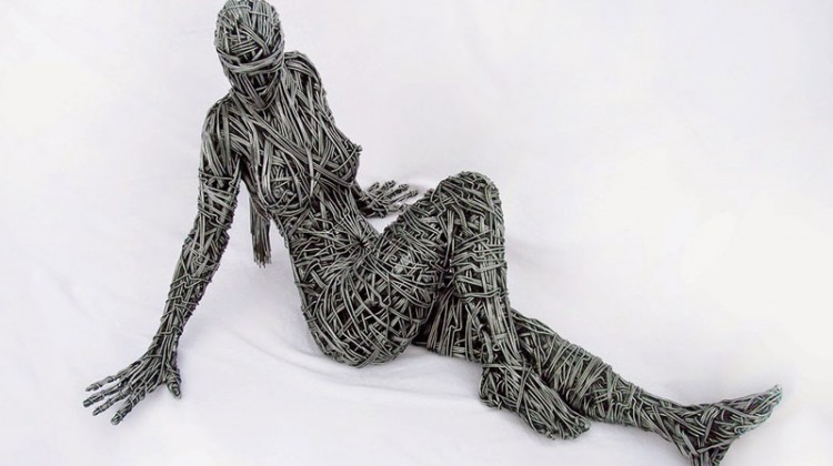 Le sculture di metallo di Richard Stainthorp.