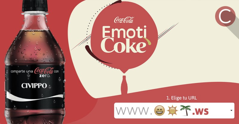 emoticon coca cola