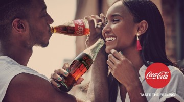 Nuova campagna Coca-Cola Taste the Feeling.